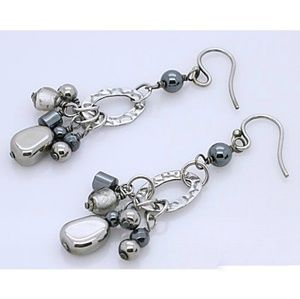 Silpada Hematite Earrings